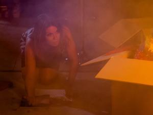 Carla tries to escape
