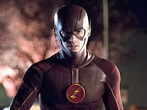 Grant Gustin as The Flash in The Flash S01E23: 'Fast Enough'