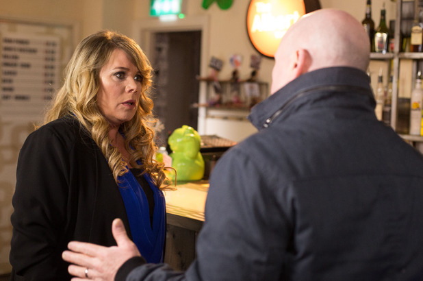 Sharon is horrified when she realises what Phil has done for Vincent.