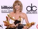 Swift takes eight awards in total, including the public-voted Billboard Chart Achievement award.