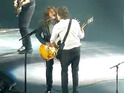 The Foo Fighters star joined McCartney at the O2 to join the performance of 'I Saw Her Standing There'.