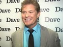 The Hoff dazzled DS to promote his new spoof reality series Hoff The Record.