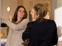 Laurel's goading pushes Harriet to breaking point in Thursday's episodes.