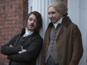 Enzo Cilenti and Eddie Marsan in Jonathan Strange & Mr Norrell episode 2