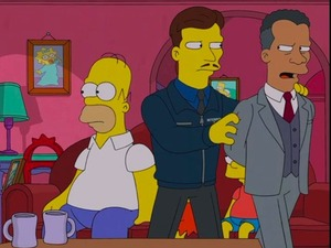 Simpsons episode 'You Don't Have to Live Like a Referee'