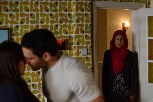 Shabnam arrives at an awkward moment