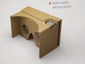 New budget Cardboard viewer supports phones of up to six inches and iPhone shaped.