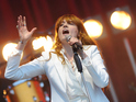 Florence Welch holds off competition from Collabro to top the chart.