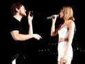 The singer surprised fans at her Detroit concert with appearances from Dan Reynolds, Gigi Hadid and Martha Hunt.