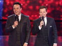 Ant and Dec on stage for the final live semi-final show of Britain's Got Talent 2015