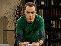 Sheldon wears a Green Lantern t-shirt on The Big Bang Theory
