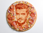 Just what every dad wants for Father's Day... David Beckham's face on a pizza