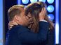 See James Corden kiss Allison Janney