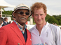 Prince Harry hangs with Samuel L Jackson