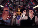 Darth Vader, Luke Skywalker,  Princess Leia and Han Solo are coming to Disney Infinity 3.0.