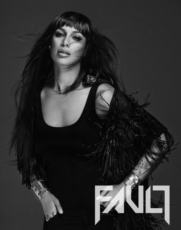 Leona Lewis in FAULT magazine