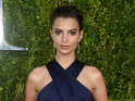 Emily Ratajkowski at the 69th Tony Awards