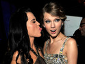 Katy Perry may be about to take her rivalry with Taylor Swift to new levels on '1984'.