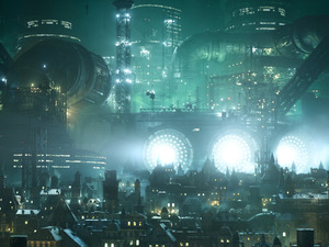 Final Fantasy VII HD remake screenshot