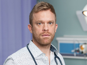 William Beck as Dylan in Casualty