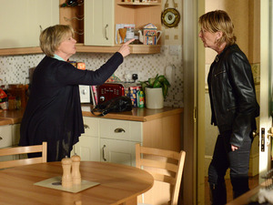 Shirley dumps Buster after Carol's bombshell