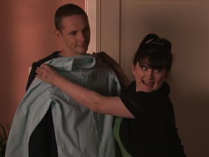 Patrick and Scarlett in River City