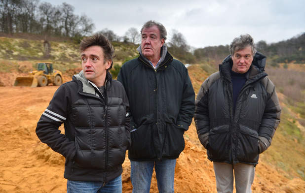 James May, Jeremy Clarkson and Richard Hammond on Top Gear