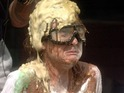The Time Warp housemates get covered in buckets upon buckets of gloop.