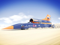 Don't get too excited, though - the Bloodhound will 'only' be going at 200mph when it appears in Cornwall.