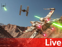 The press briefing reveals Star Wars Battlefront, Need for Speed and a hell of a lot of sport.