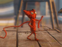 Yarny navigates a water-based level in fresh footage debuting at gamescom.