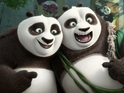Back in black. Jack Black returns to voice Po in the latest Kung Fu Panda animation.
