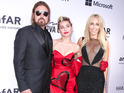 The country singer was also joined by wife Trish as daughter Miley Cyrus was honored.