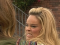 Grace gets angry when she realises that Kim is manipulating her.