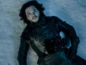 Kit Harington as Jon Snow in Game of Thrones S05E10