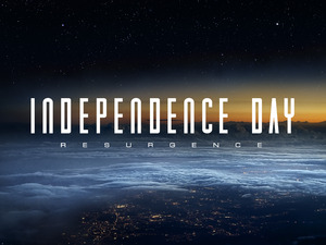 Independence Day Resurgence title treatment