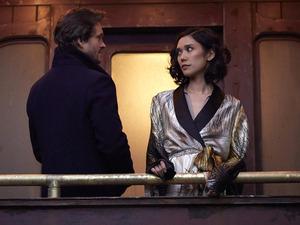 Hugh Dancy as Will Graham & Tao Okamoto as Chiyoh in Hannibal S03E05: 'Contorno'