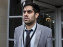Dhawan stars as troubled Danny in Channel 4's new series Not Safe For Work.