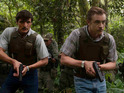 Boyd Holbrook and Pedro Pascal in Narcos