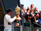"Lewis Hamilton wins British Grand Prix from pole at Silverstone: ""I'm so elated"""