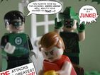 'My ward is a junkie!' and more iconic comic covers recreated in Lego