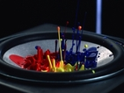 Sony uses paint, vodka and sand to show how powerful its new speaker is