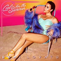 Demi Lovato 'Cool For The Summer' single artwork.