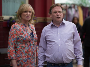 Ian and Jane are shocked to see the police