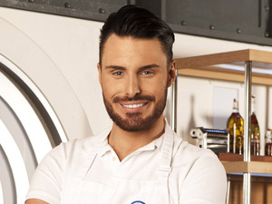 Rylan Clark on Celebrity Masterchef