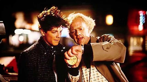Eric stoltz filming back to the future
