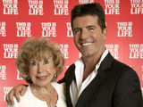 Simon Cowell with his mother Julie Brett at This Is Your Life