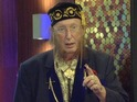 John McCririck has spent a day in the Big Brother house as part of the hotel task this week.