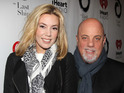Billy Joel and Alexis Roderick attend the Broadway opening for 'The Last Ship' in October 2014.