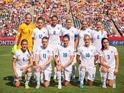 England's starting 11 women's football team
